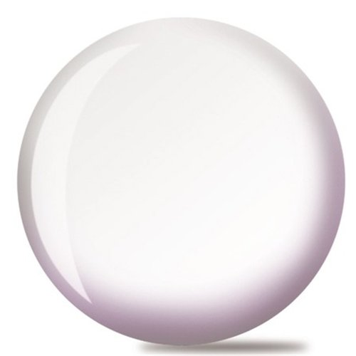 Brunswick White Viz-A-Ball Bowling Ball