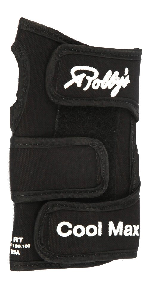 Robby's Cool Max Black Bowling Wrist Support