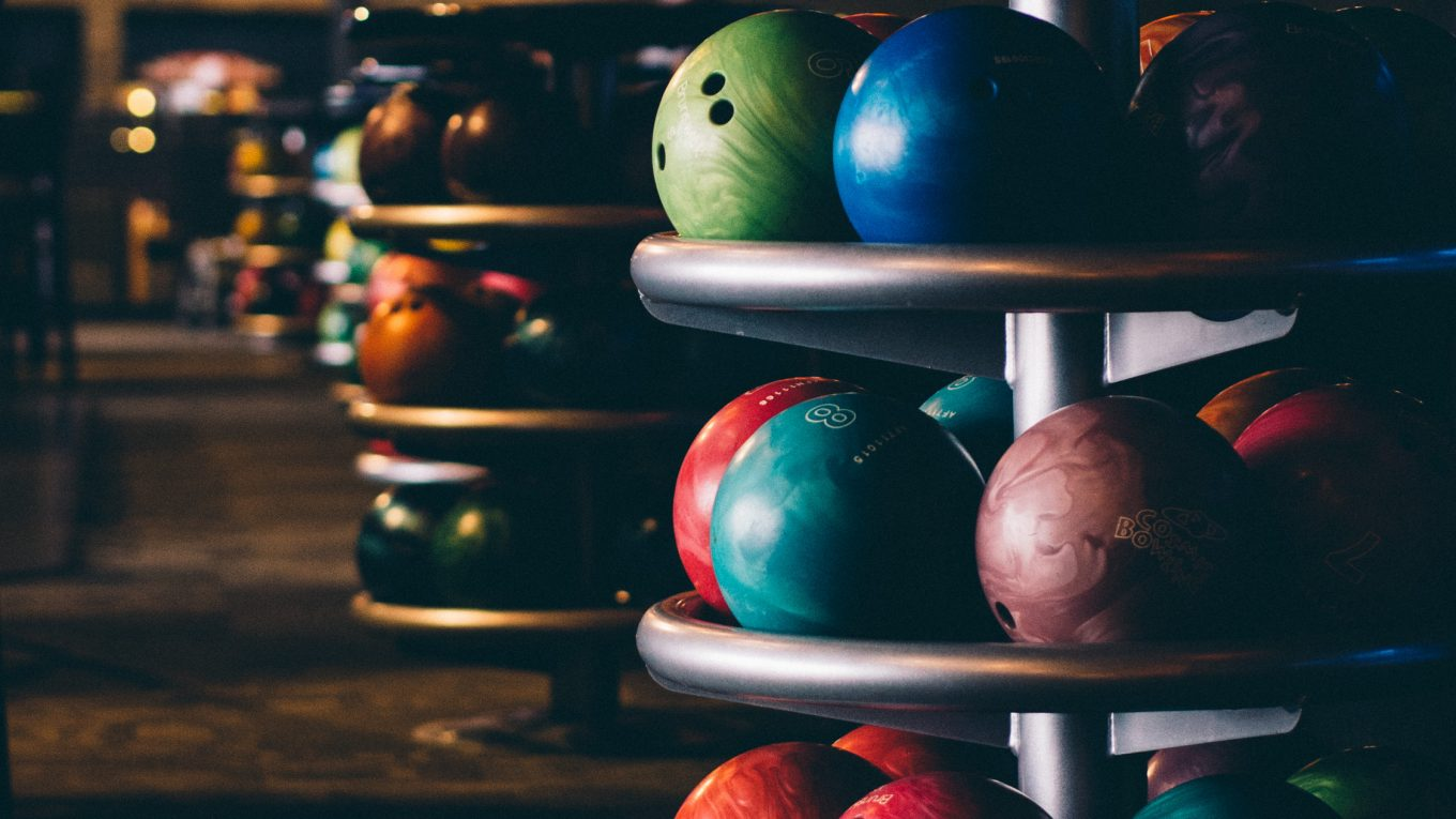Bowling Ball Cover Stock